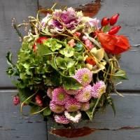 bouquet su struttura