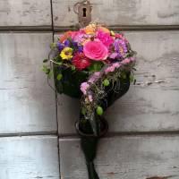 bouquet gioiello strutturato