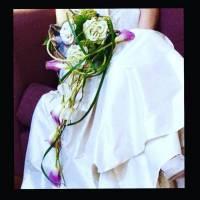 bouquet stile moderno strutturato