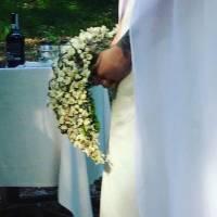 bouquet a goccia su struttura
