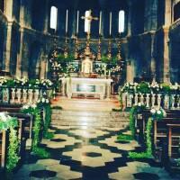 allestimento chiesa nozze