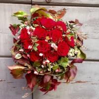bouquet decorativo strutturato amore