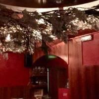 decorazione natalizia ristorante