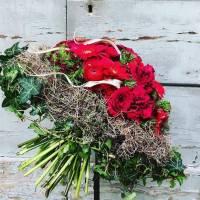 bouquet decorativo strutturato