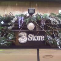 allestimenti natalizio per esterno negozio