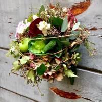 bouquet decorativo formale strutturato