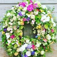 corona funebre condoglianze fiorista bianchi