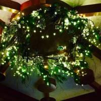 ristorante , decorazione natalizia allestimenti