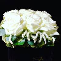 rose bouquet fiorista bianchi