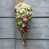 bouquet decorativo a goccia