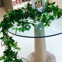 decorazione su tavolo allestimento floreale