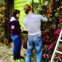 villa Erba dimostrazione floreale con la scuola AOC Oost Olandese e Concomercio