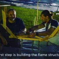 """FLEURAMOUR 2016 Alden Biesen Belgio Flickering Flame"""" in the Garden con il maestro Fabio Pedone e Mauro Arnesano"""