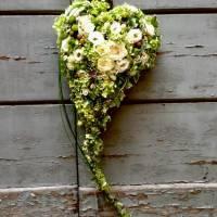 bouquet a cuore strutturato
